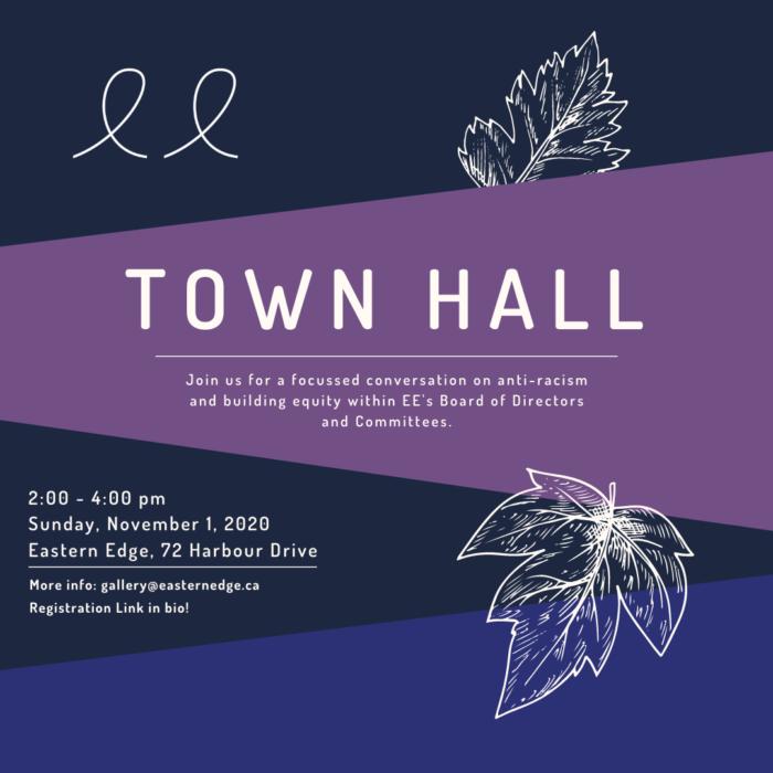 Town Hall   November 1st 2:00 - 4:00 pm
