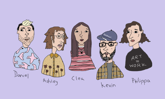 The Summer 2019 Eastern Edge Team. Drawing by Ashley Hemmings.