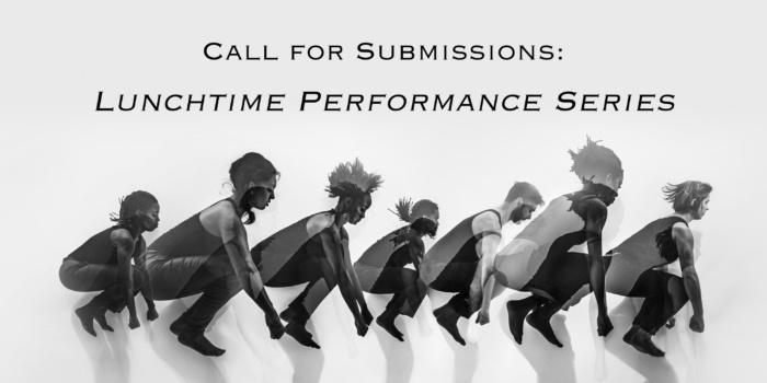 performance series call for submissions